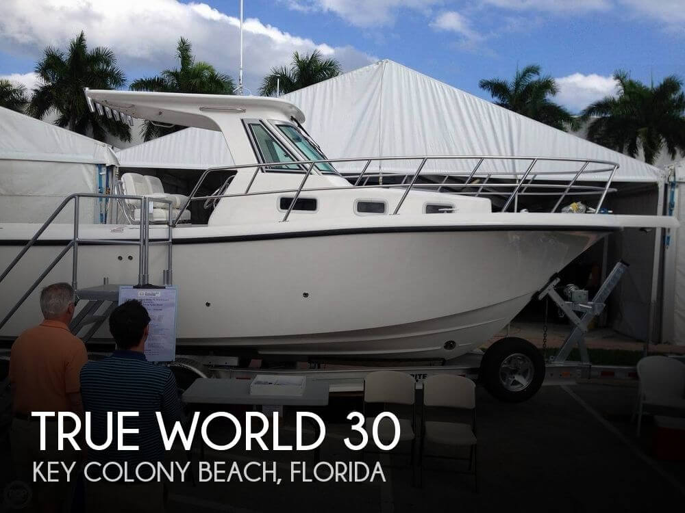 Used Boats For Sale in North Carolina by owner | 2013 True World 30