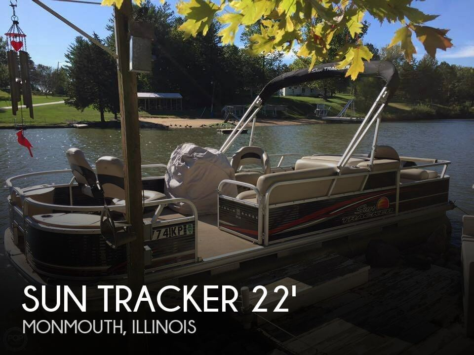 Used Boats For Sale in Peoria, Illinois by owner | 2013 Sun Tracker 22