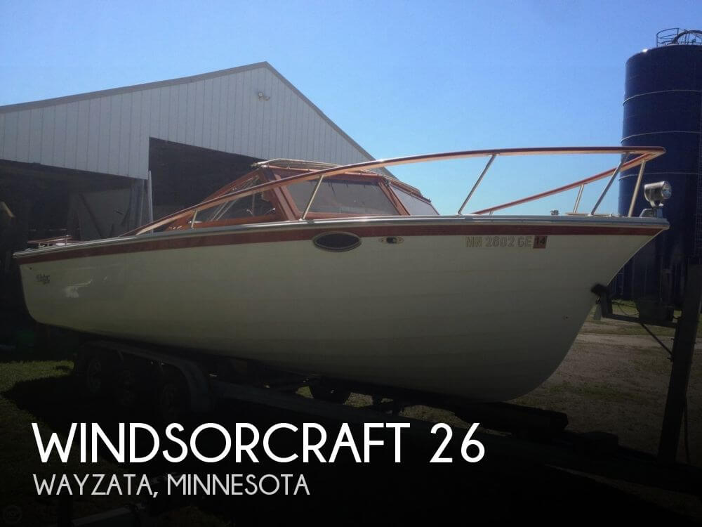 Used Boats For Sale in Minneapolis, Minnesota by owner | 1990 WindsorCraft 26