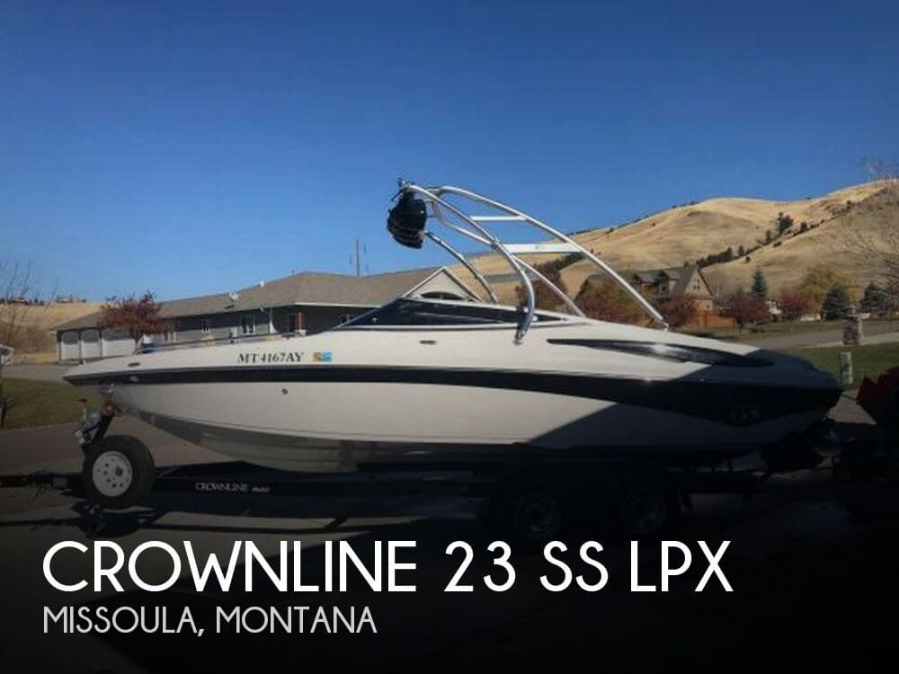 Used Boats For Sale in Montana by owner | 2008 Crownline 23