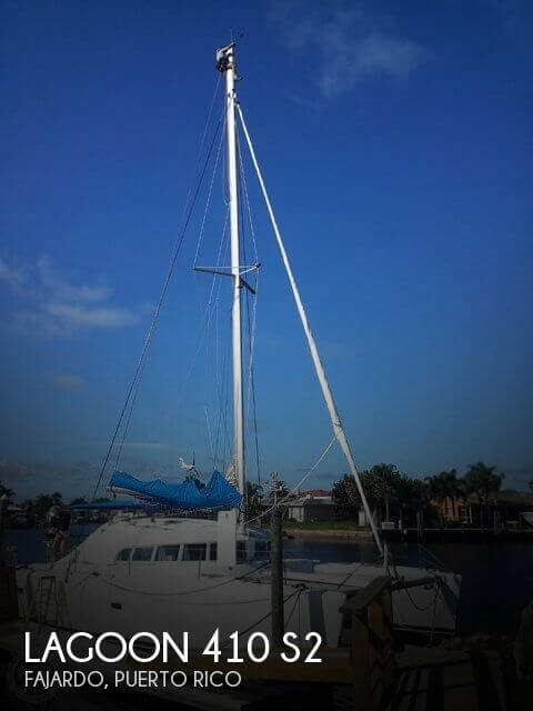 Used Boats For Sale in St Martin by owner | 2005 Lagoon 41