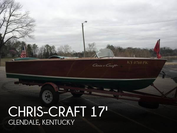Used Chris Craft Ski Boats For Sale by owner | 1957 Chris-Craft 17