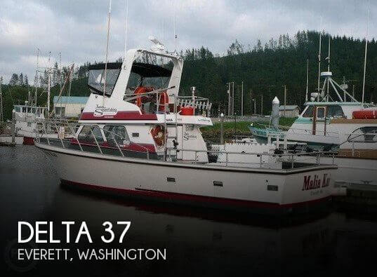 Used Boats For Sale in Washington by owner | 1976 Delta 37
