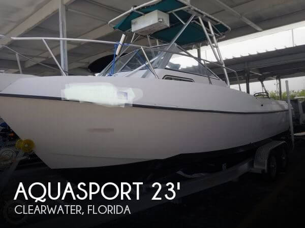 Used Power boats For Sale by owner | 1994 Aquasport 225 Explorer