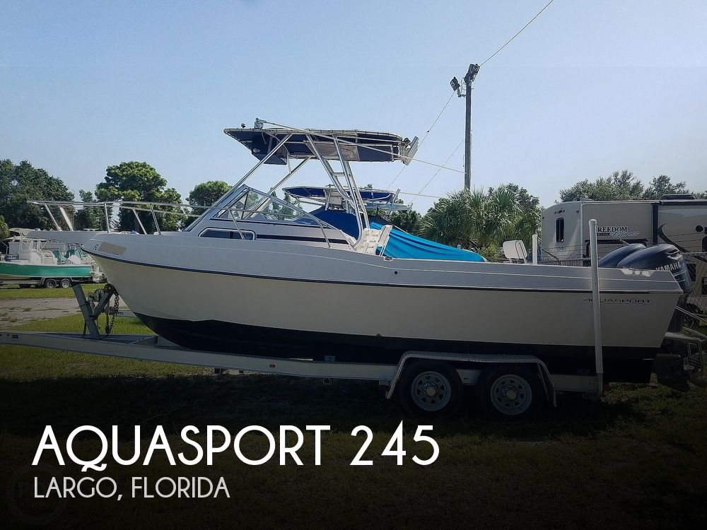 1994 Aquasport boat for sale, model of the boat is 230 Explorer & Image # 1 of 40