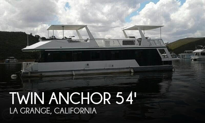 Used Boats For Sale in Merced, California by owner | 2000 Twin Anchor 54