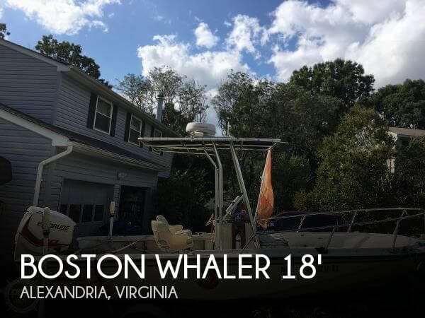 Used Boston Whaler Boats For Sale in Virginia by owner | 1989 Boston Whaler 18