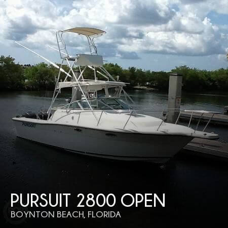 Used Pursuit Boats For Sale by owner | 1990 Pursuit 28