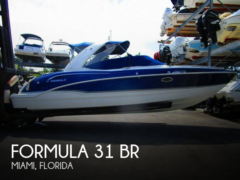 Used Formula Boats For Sale in Florida by owner | 2012 Formula 31 BR