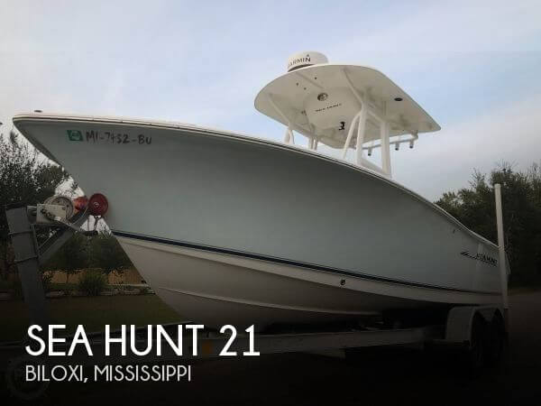 Used Boats For Sale in Mississippi by owner   2013 Sea Hunt 21