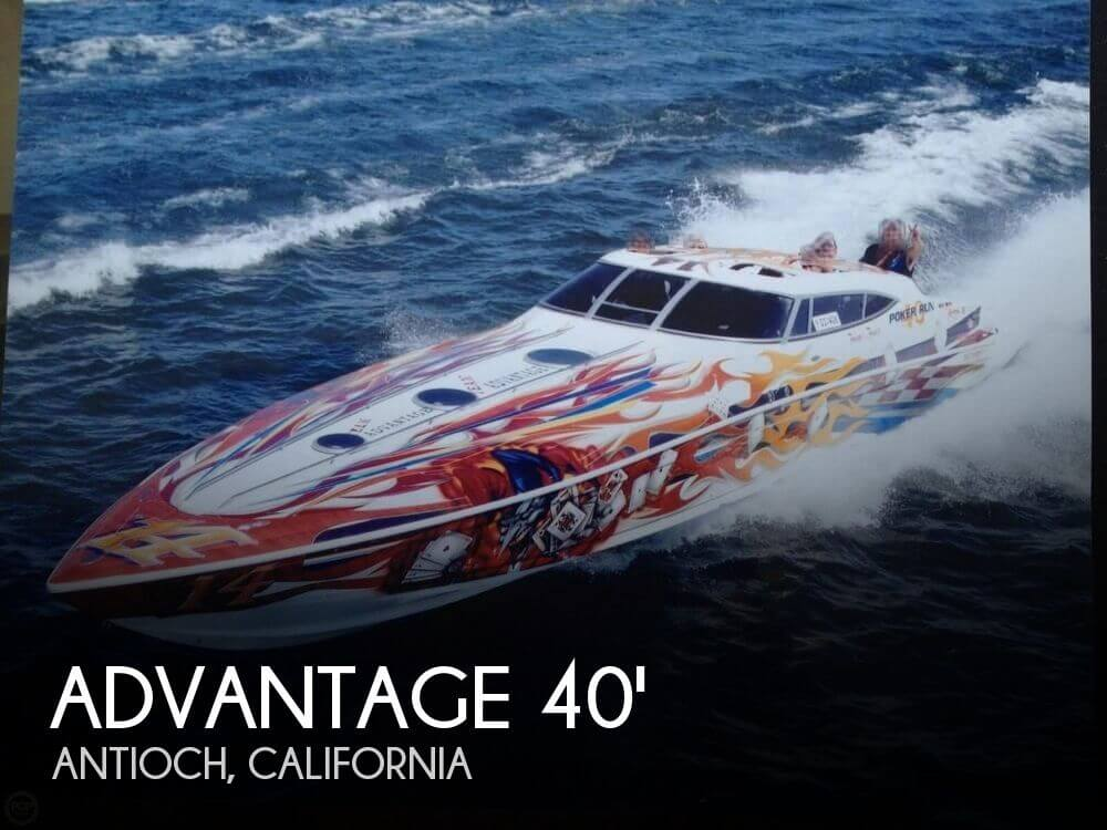 Used Boats For Sale in Vallejo, California by owner | 2000 Advantage 40