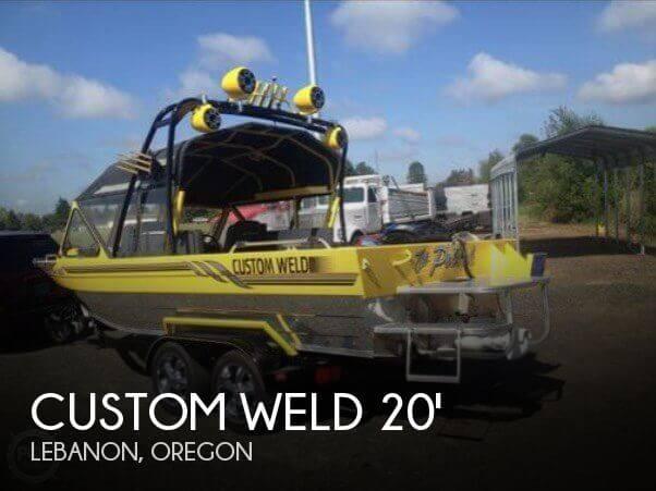 Used Custom Weld Boats For Sale by owner | 2005 Custom Weld 20