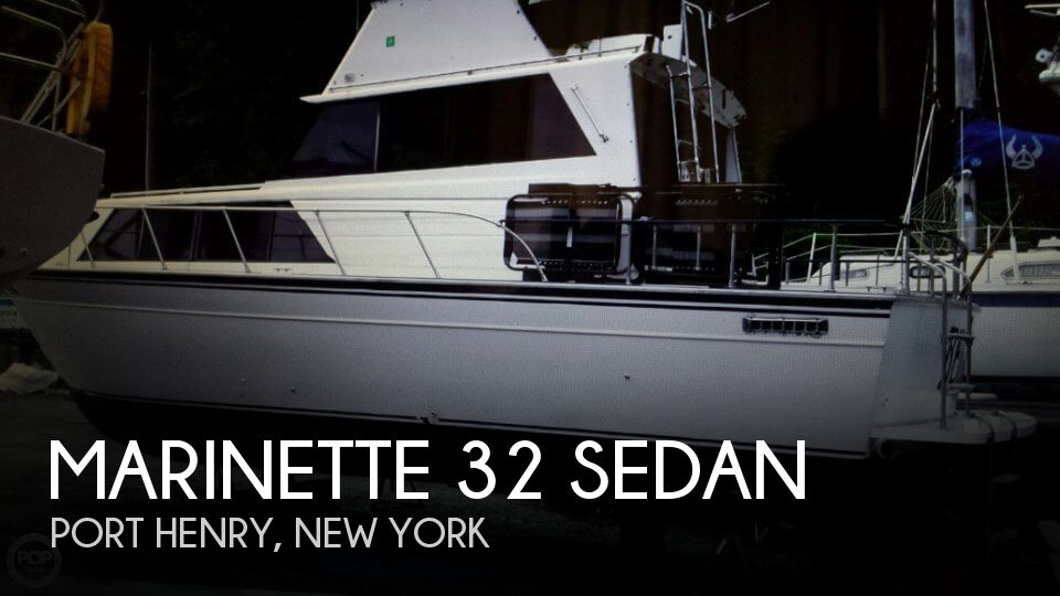 Used Boats For Sale in Burlington, Vermont by owner | 1989 Marinette 32