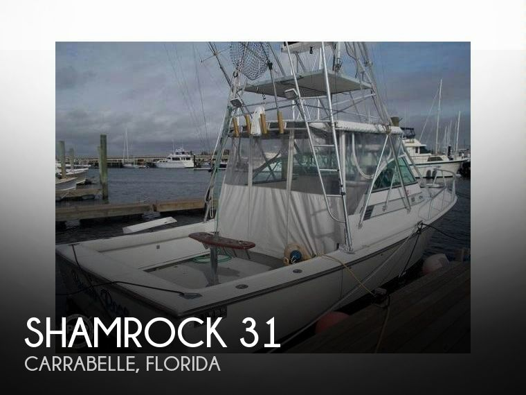 Used Boats For Sale in Tallahassee, Florida by owner | 1989 Shamrock 31