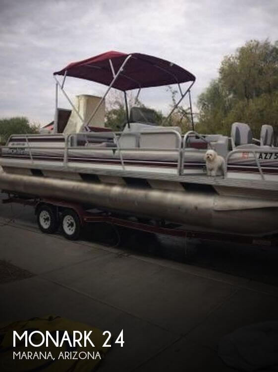 Used Pontoon Boats For Sale in Arizona by owner | 1993 MonArk 24