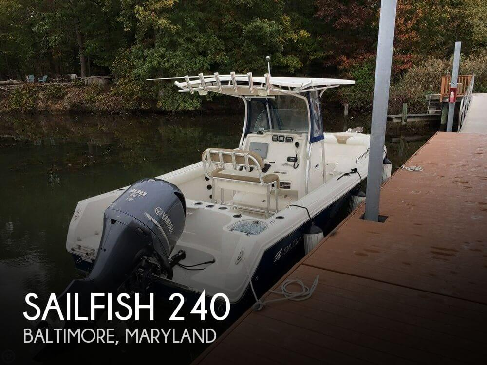 Used Sailfish Boats For Sale by owner | 2013 Sailfish 24