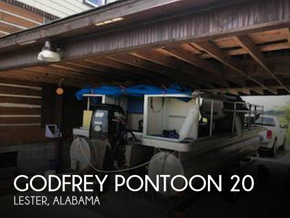 Used Pontoon Boats For Sale by owner | 2003 Godfrey Pontoon 20