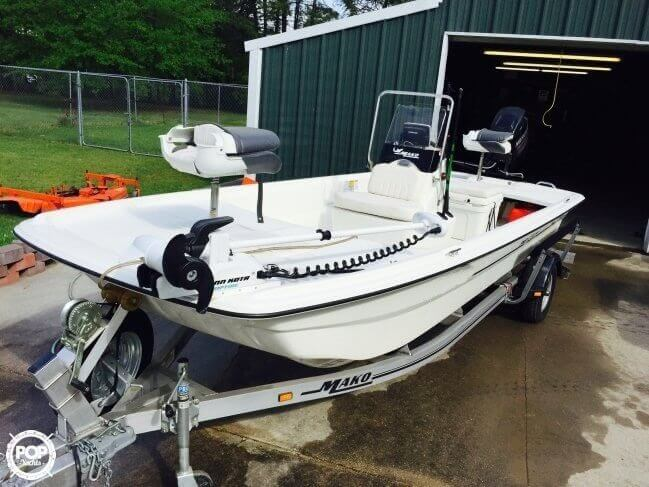 SOLD: Mako Pro Skiff 17 Center Console boat in Springfield, LA | 142346