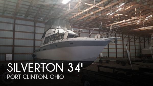 Used Fishing boats For Sale in Ohio by owner | 1988 Silverton 34
