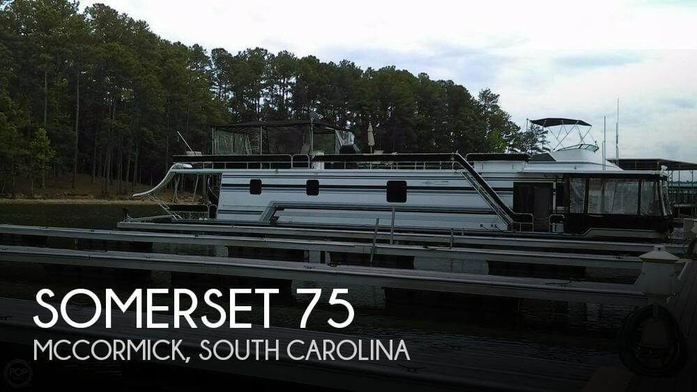 Used Houseboats For Sale by owner | 1990 Somerset 75