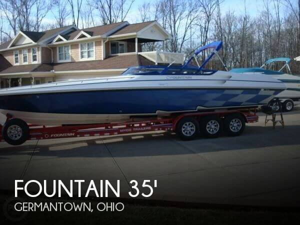 Used Boats For Sale in Ohio by owner | 2004 Fountain Lightning 35