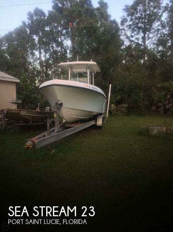Used Ski Boats For Sale by owner | 1984 Sea Stream 23