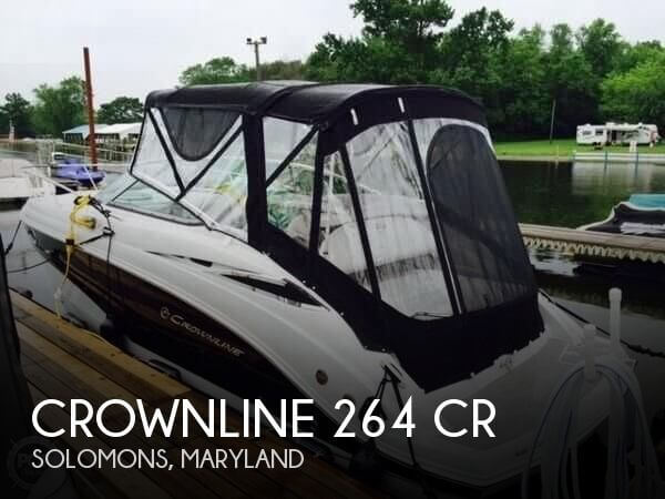 Used Boats For Sale in Richmond, Virginia by owner | 2014 Crownline 26
