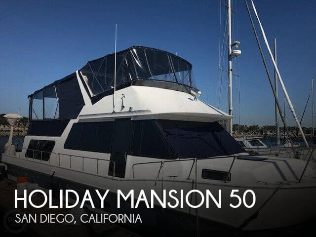 Used Houseboats For Sale by owner | 1996 Holiday Mansion 50