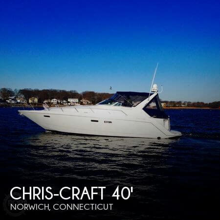 1997 CHRIS CRAFT 380 CONTINENTAL for sale