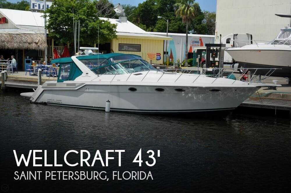Used Wellcraft Boats For Sale by owner | 1995 Wellcraft 43