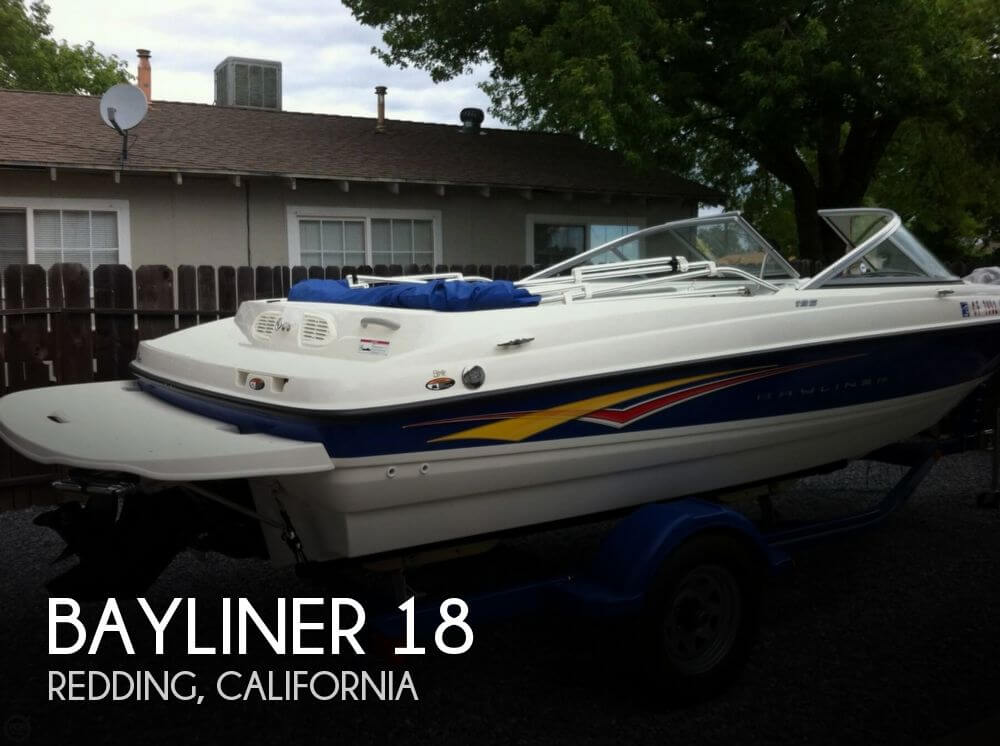 Used Bayliner Ski Boats For Sale in California by owner | 2007 Bayliner 18