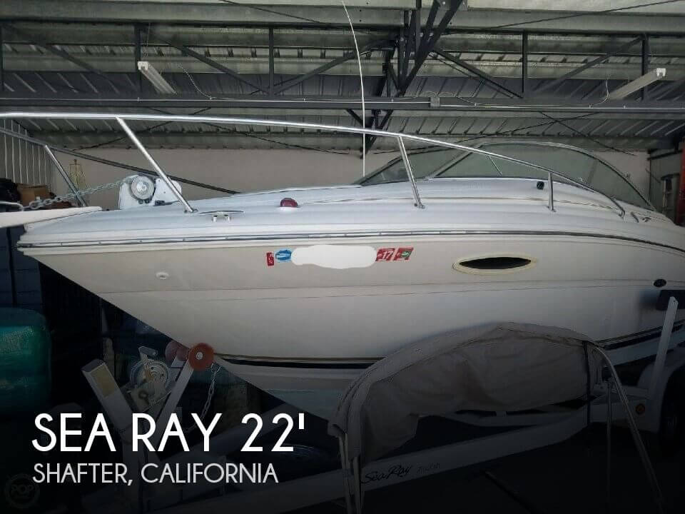 Used Boats For Sale in Bakersfield, California by owner | 2002 Sea Ray 23