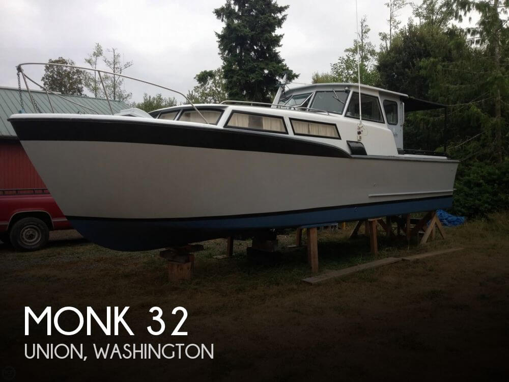 Used Monk Boats For Sale by owner | 1964 Monk 32