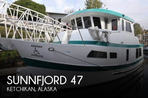Used Boats For Sale in Alaska by owner | 1998 Sunnfjord 47