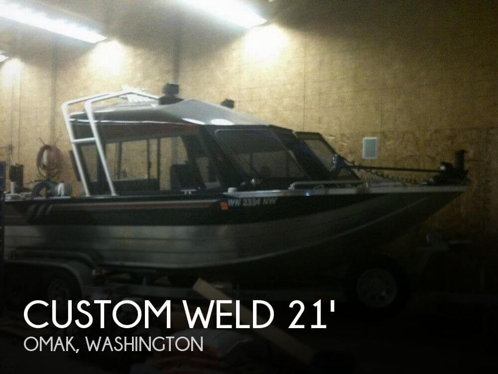 Used Ski Boats For Sale in Washington by owner | 2007 Custom Weld 21