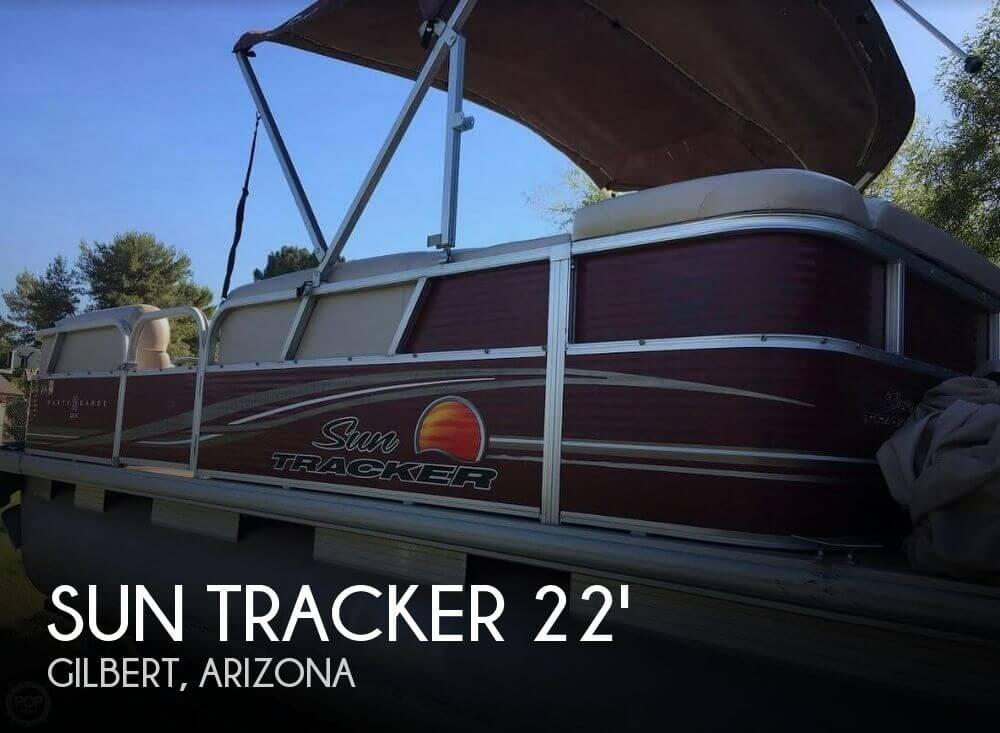 Used Pontoon Boats For Sale in Arizona by owner | 2012 Sun Tracker Party Barge 20 DLX