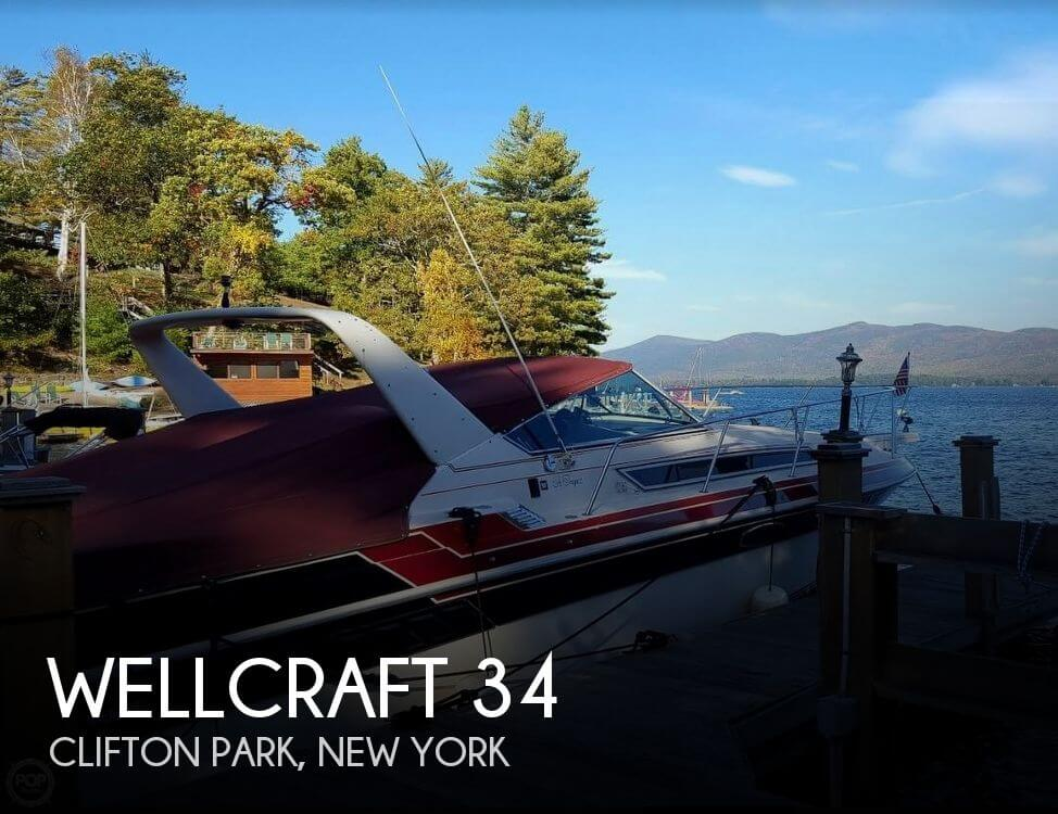 Used Boats For Sale in Albany, New York by owner | 1985 Wellcraft 34
