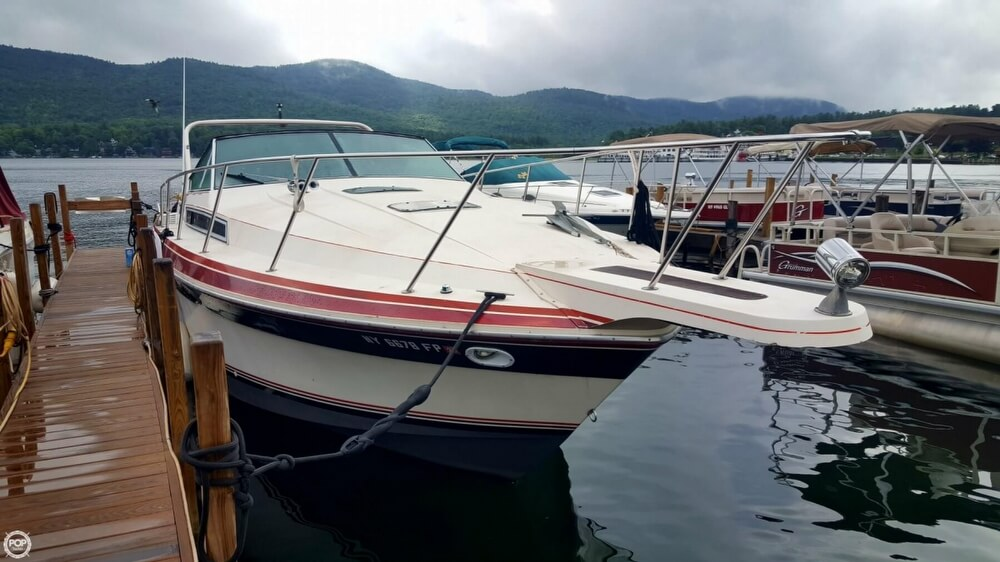 1985 Wellcraft boat for sale, model of the boat is St. Tropez 3200 & Image # 17 of 30