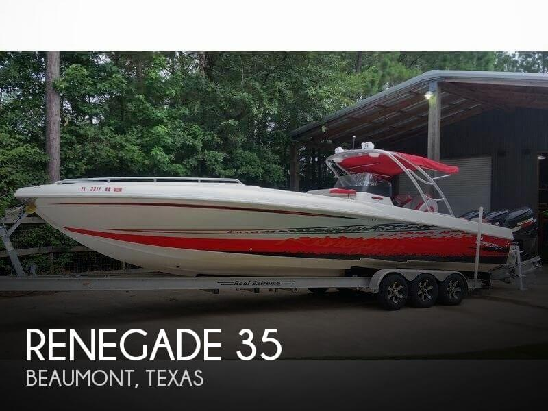 Used Boats For Sale in Beaumont, Texas by owner | 2007 Renegade 35