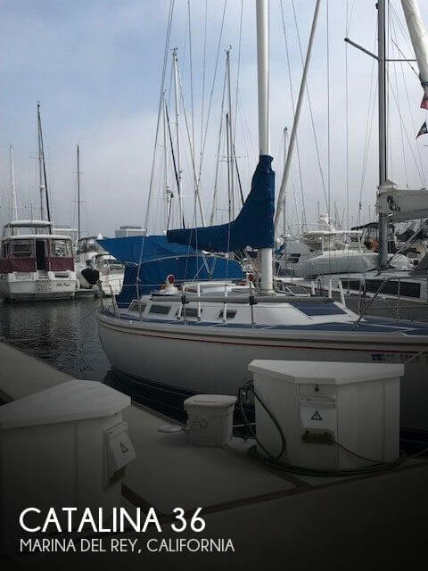 Used Catalina Boats For Sale in California by owner | 1986 Catalina 36