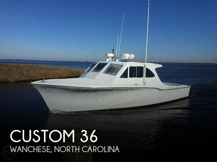 Used Fishing boats For Sale in North Carolina by owner | 2000 Custom 36