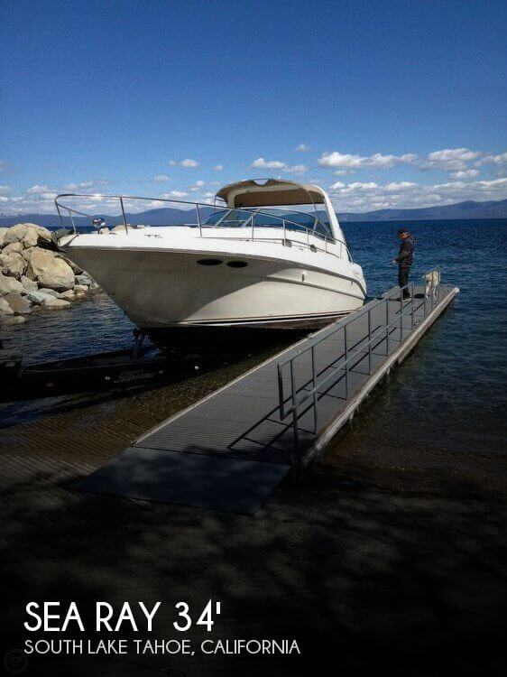 Used Sea Ray Boats For Sale in California by owner   1999 Sea Ray 34