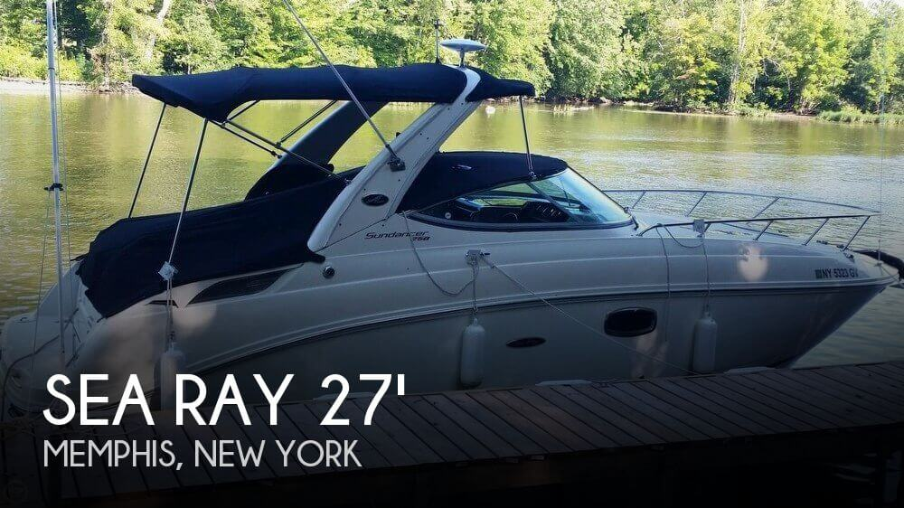Used Boats For Sale in Syracuse, New York by owner | 2009 Sea Ray 27