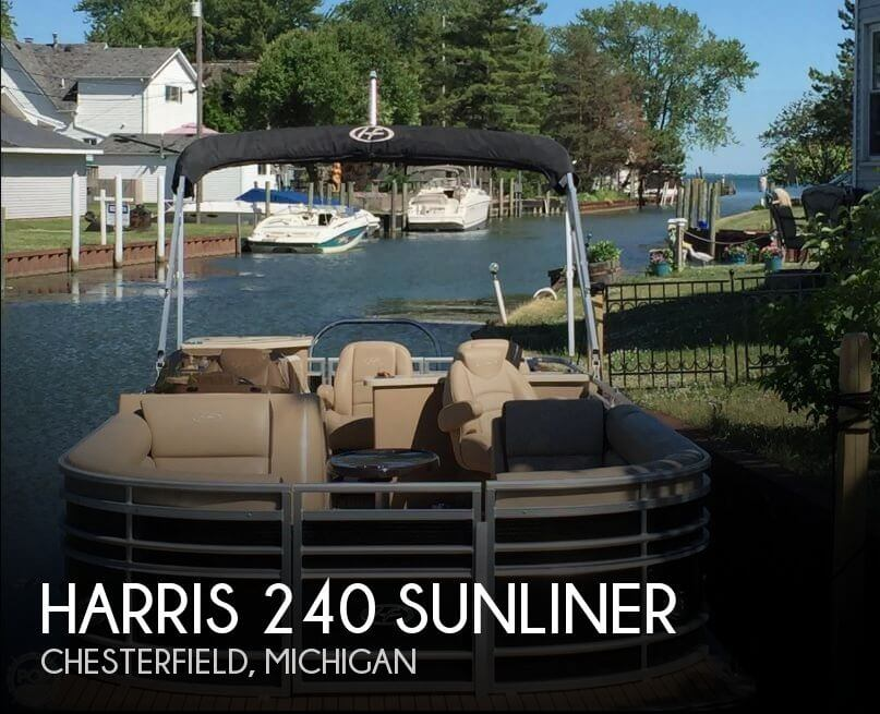 Used Pontoon Boats For Sale in Michigan by owner | 2015 Harris 26