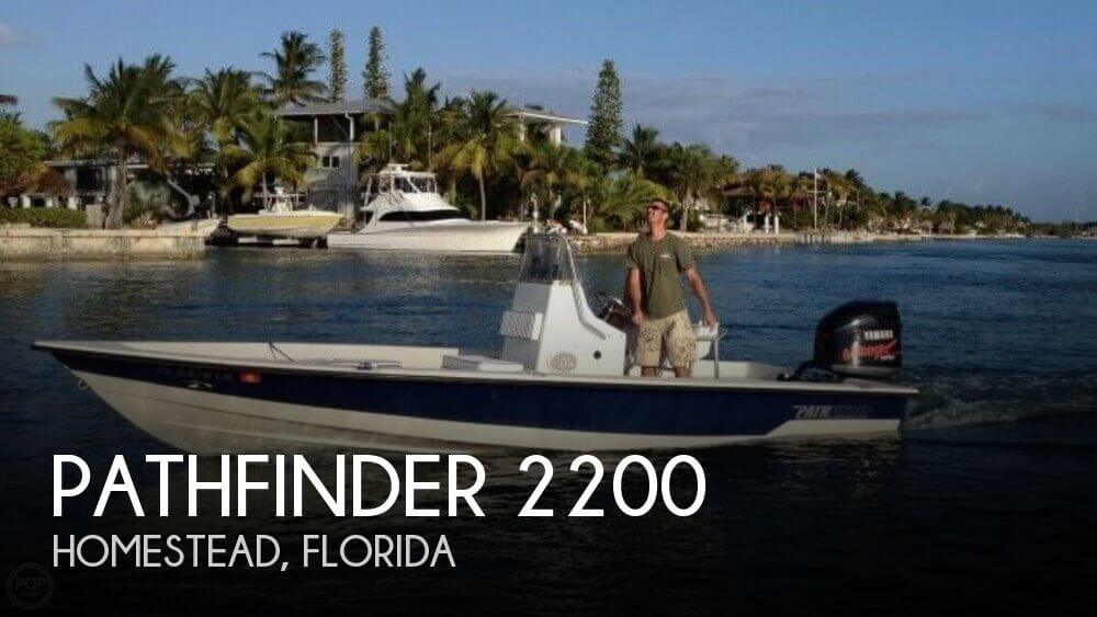 Used Pathfinder Boats For Sale by owner | 2001 Pathfinder 22