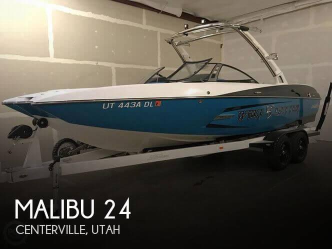 Used Boats For Sale in Ogden, Utah by owner | 2013 Malibu 24