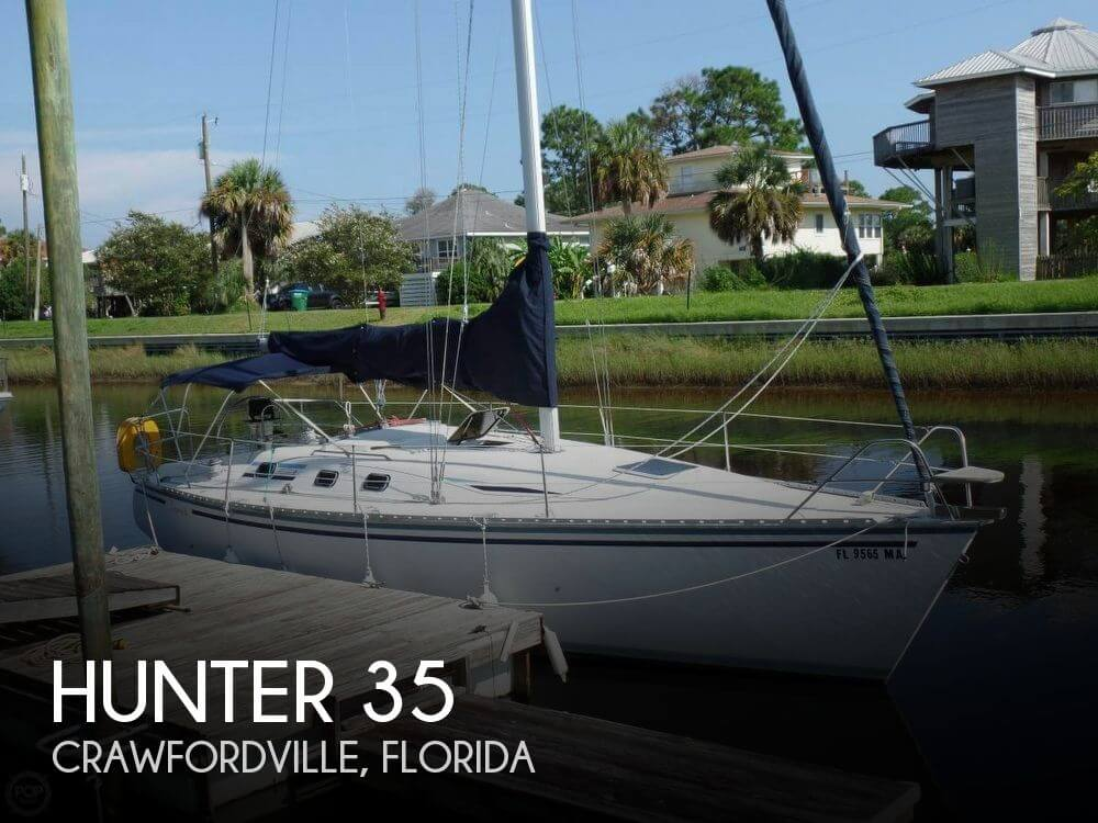 Used Hunter Sailboats For Sale in Florida by owner | 1987 Hunter 35