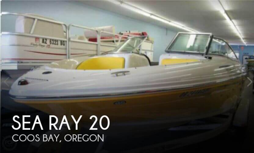 Used Boats For Sale in Eugene, Oregon by owner | 2006 Sea Ray 20