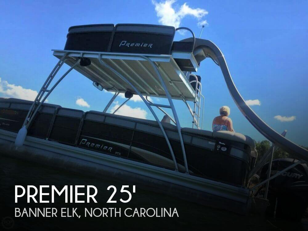 Used Boats For Sale in Asheville, North Carolina by owner | 2012 Premier Pontoons 25