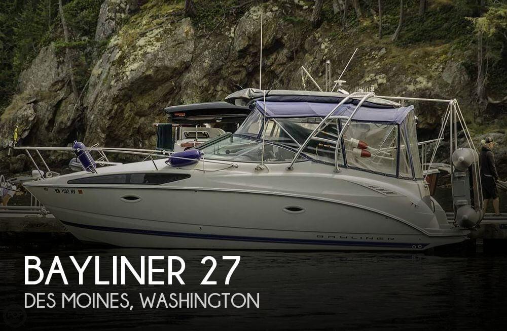 Used Bayliner Boats For Sale in Washington by owner | 2006 Bayliner 27